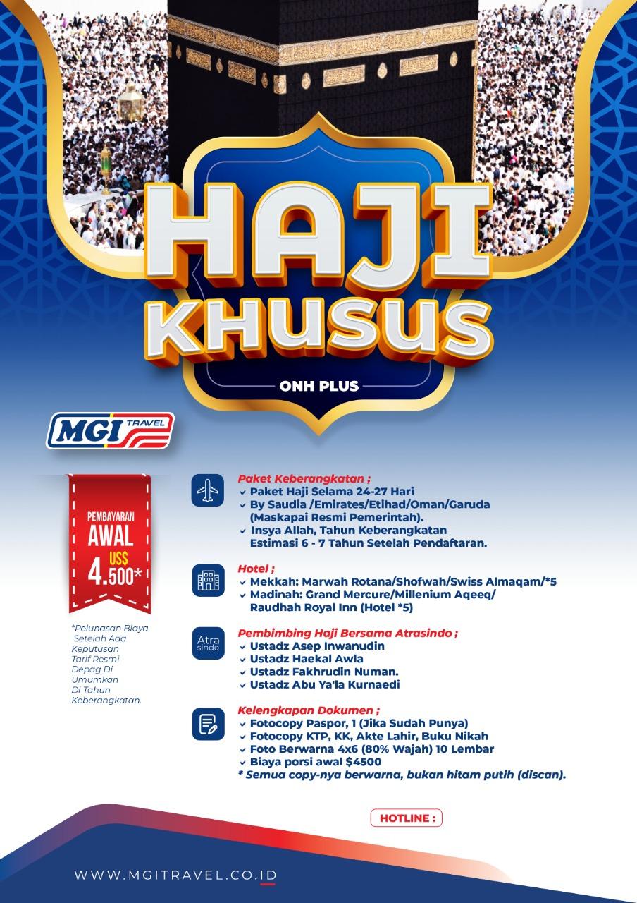 Haji Khusus MGI Travel